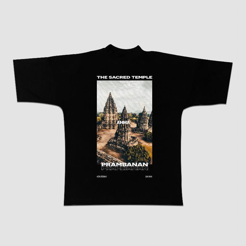 Oversized T-shirt Prambanan