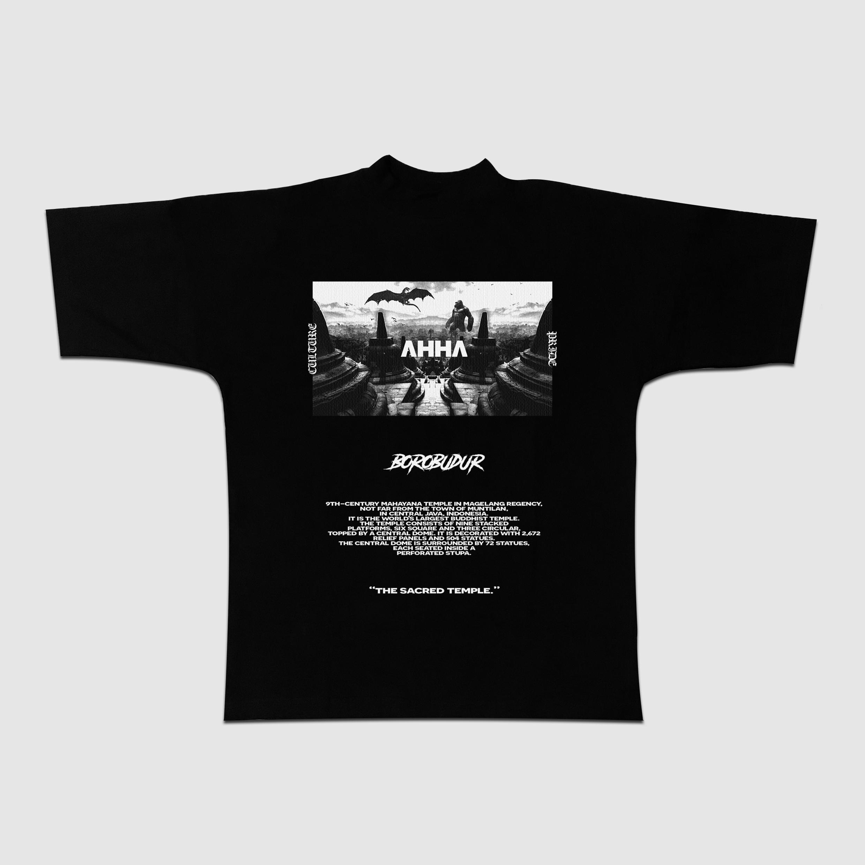 Oversized T-shirt Borobudur