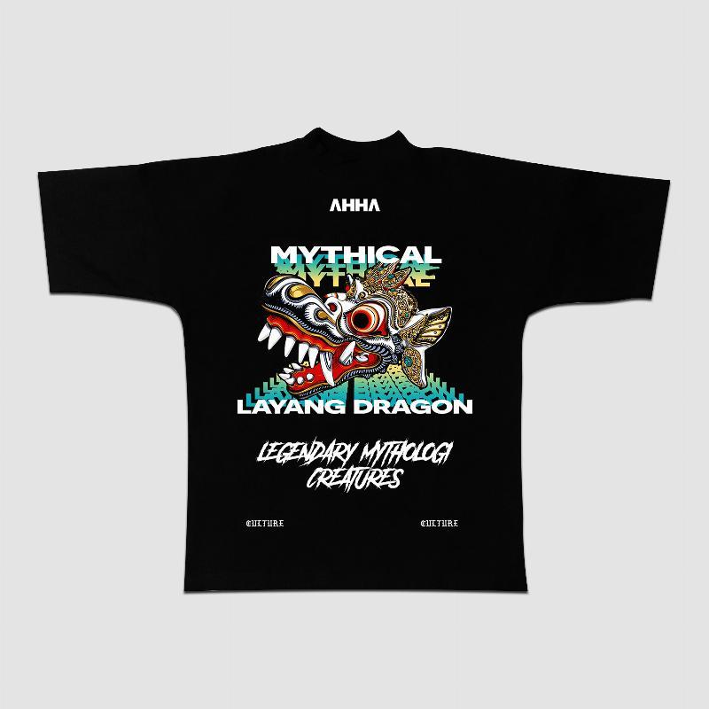 Oversized T-shirt Layang Dragon