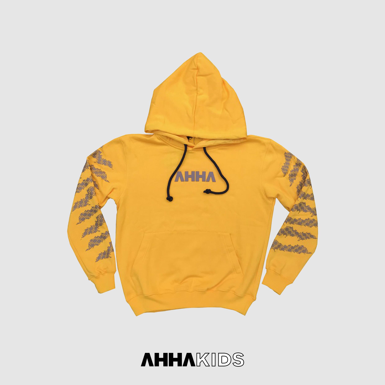 Hoodie AHHA Batik Yellow Claw KIDS
