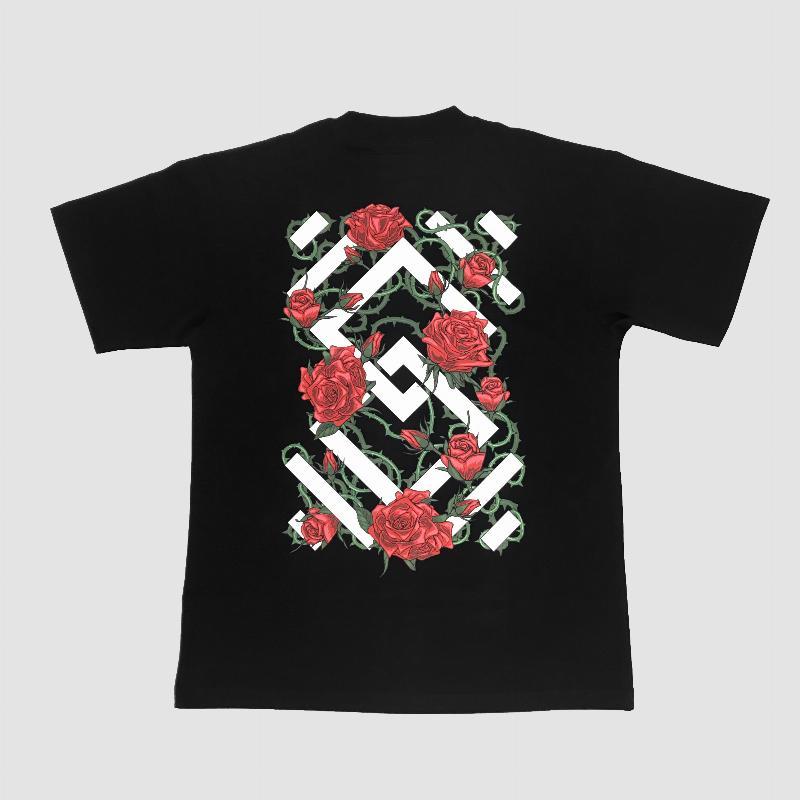 Oversized T-shirt Unity Rose 2.0